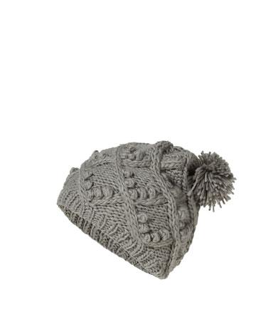 Zara Mütze grau