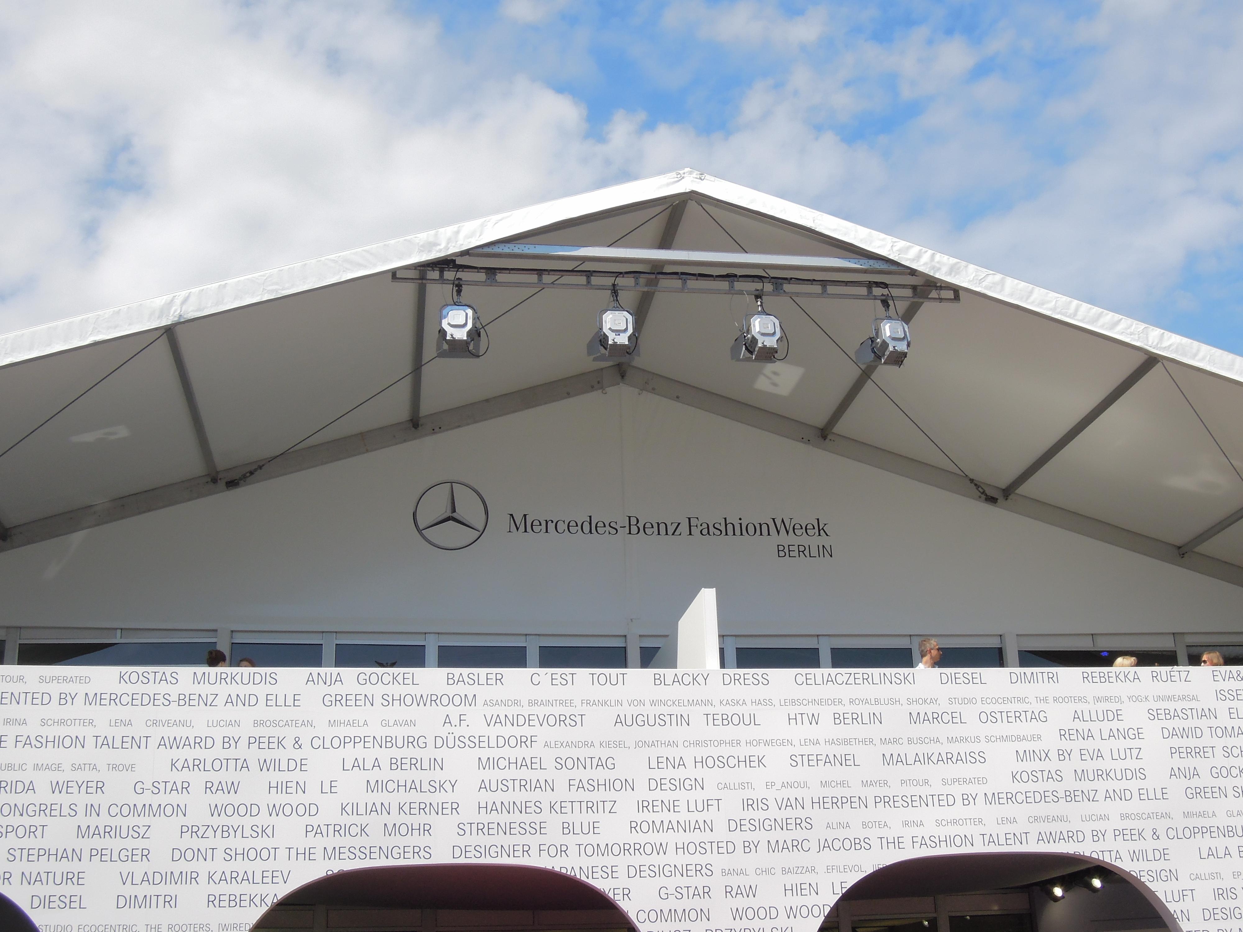 fashionweek tent