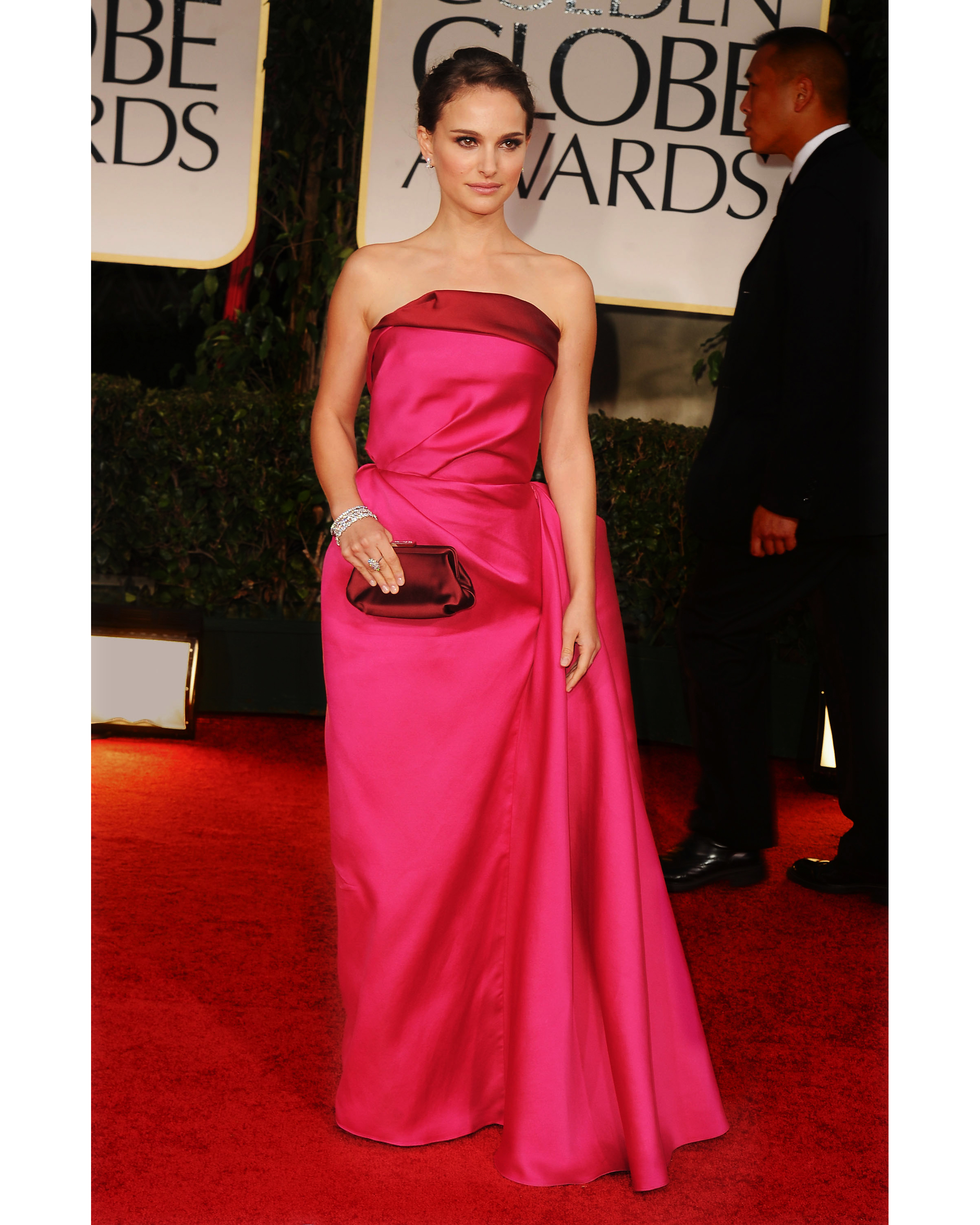NATALIE PORTMAN AT THE 2012 GOLDEN GLOBE AWARDS