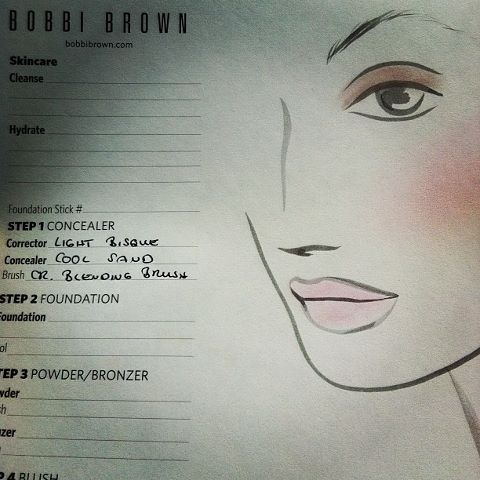 bobbi brown look
