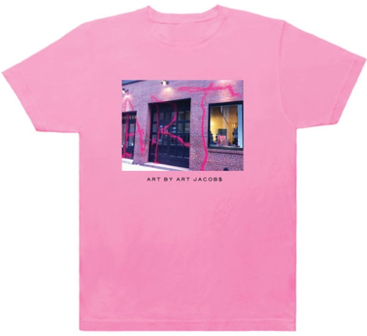marc jacobs kidult t-shirt