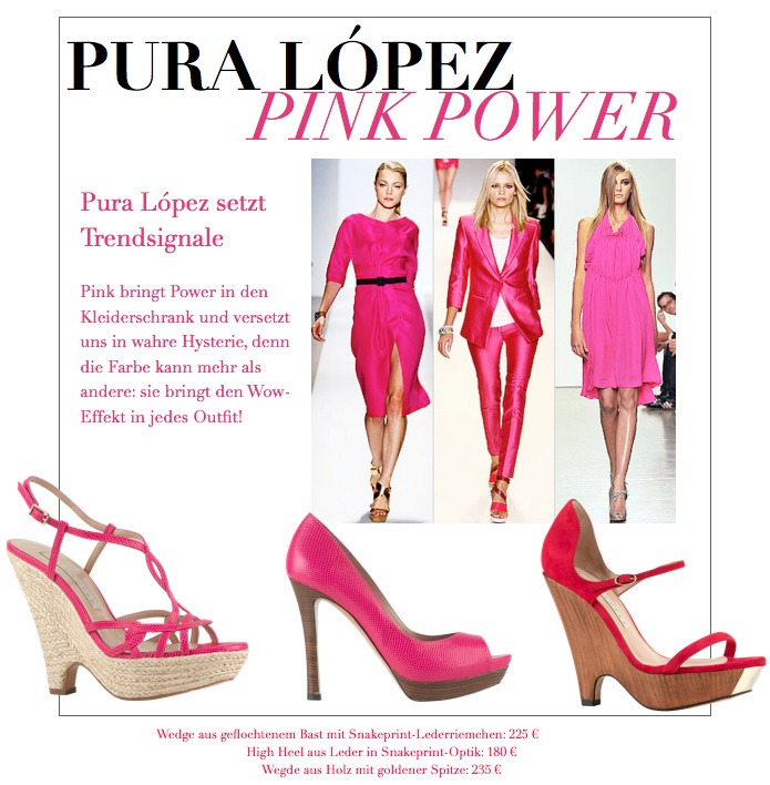 Pink Power Pura López