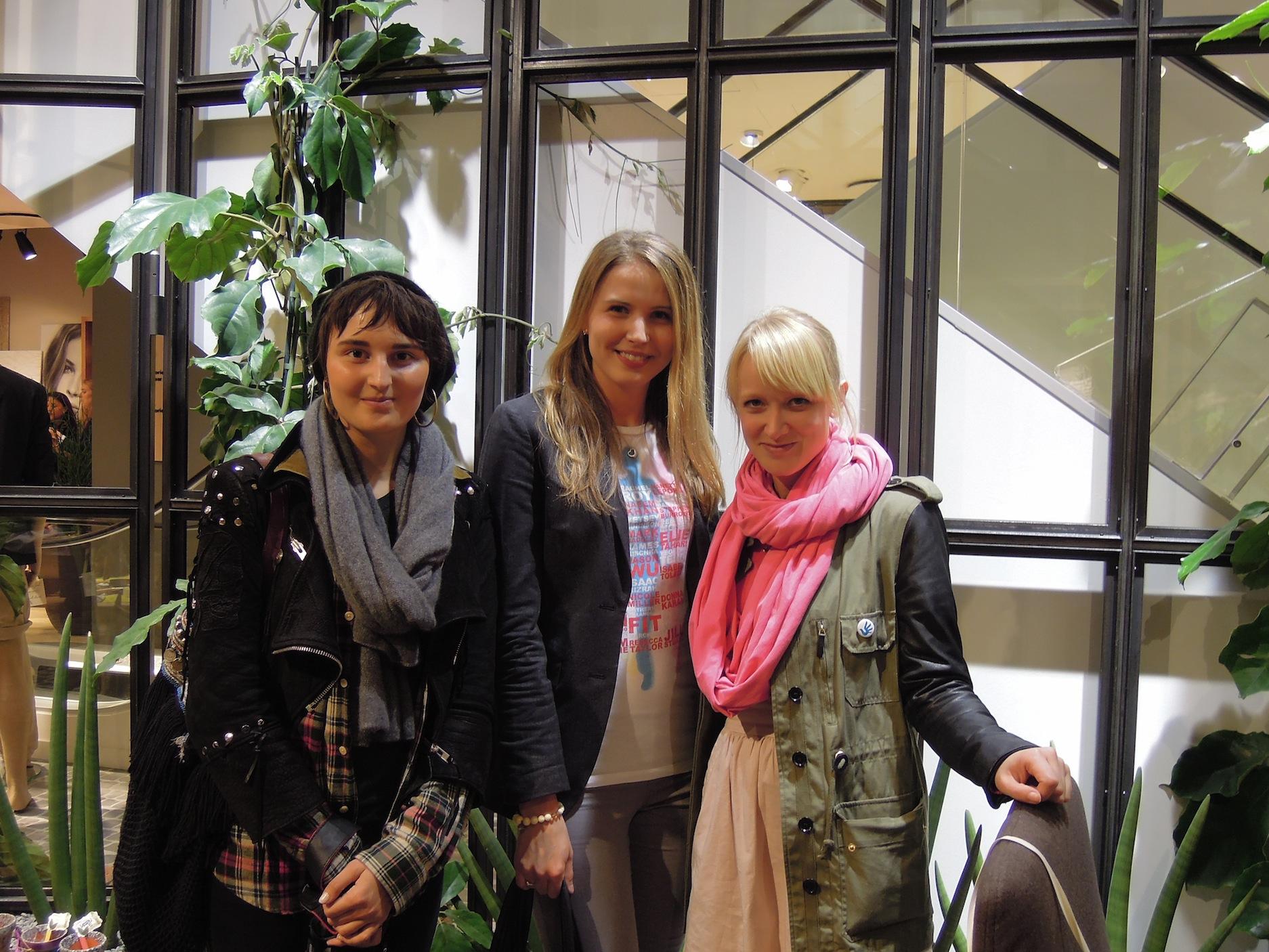 Anouk, Sue, Kathrin